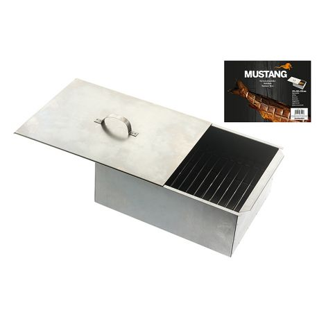 Mustang savustuslaatikko 13,5x38,3x25cm