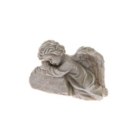 4 Living enkeli nojaa kiveen 12 cm