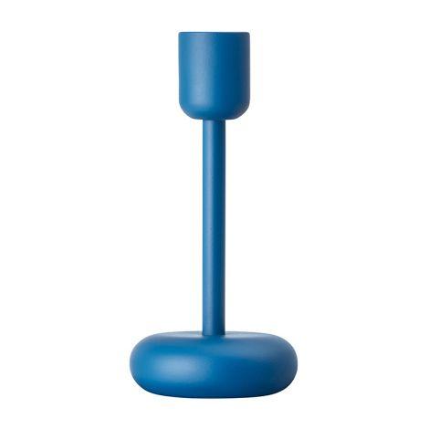 Iittala Nappula kynttilänjalka 183mm, tummansininen