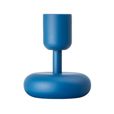 Iittala Nappula kynttilänjalka 107mm, tummansininen