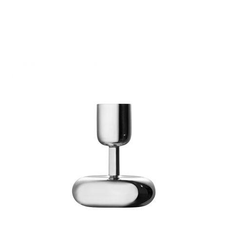 Iittala Nappula kynttilänjalka 107mm, teräs