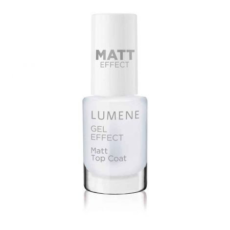 LUMENE GEL EFFECT KYNSILAKKA MATT TOP COAT