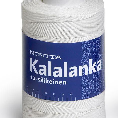 NOVITA KALALANKA 12-SÄIKEINEN 500G L.VALKOINEN