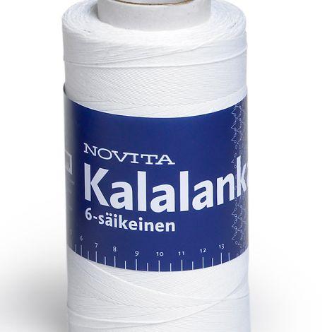 NOVITA KALALANKA 6-SÄIKEINEN 250G VALKOINEN
