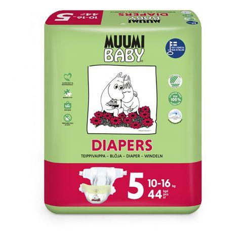 MUUMI BABY MAXI+ 5, 10-16 KG  44 KPL