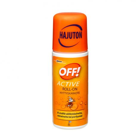 OFF! Active roll-on hyttyskarkote 60ml