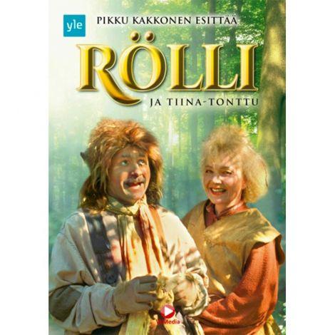 DVD RÖLLI TIINA-TONTTU