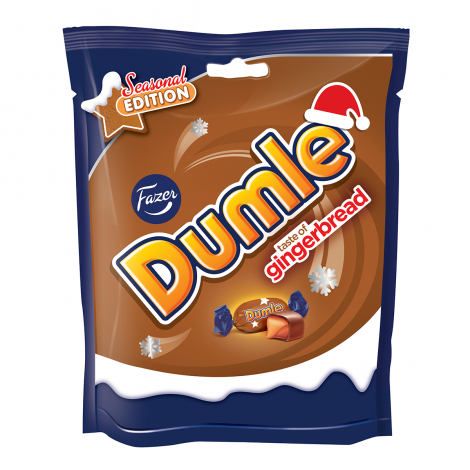 Fazer Dumle Gingerbread toffeekaramellit 220g