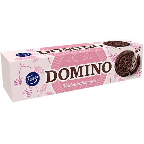 Fazer Domino vadelmajogurtti 175g