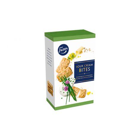 Fazer Sourcream-Chive Bites suolakeksi 160g