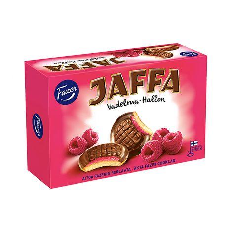 Fazer Jaffa Vadelma täytekeksi 300g