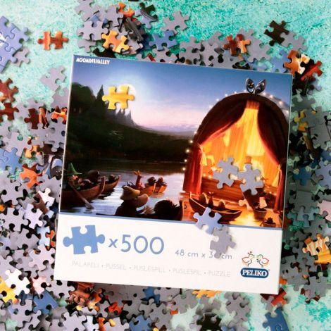 Muumi Muumilaakso -palapeli 500 palaa