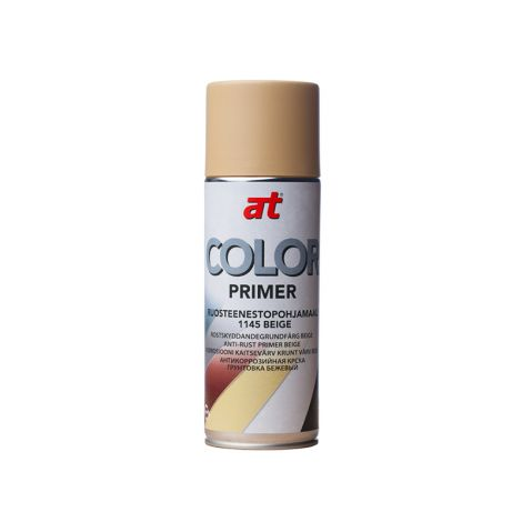 AT-COLOR PRIMER RUOSTEENESTOPOHJAMAALI BEIGE 400 ML