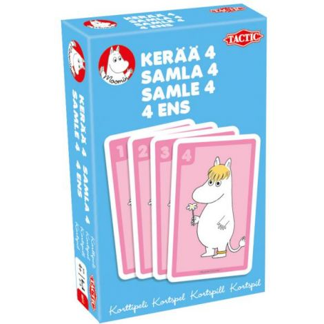 Muumi Kerää 4 -korttipeli