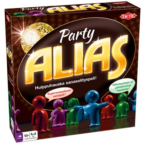 Party Alias lautapeli