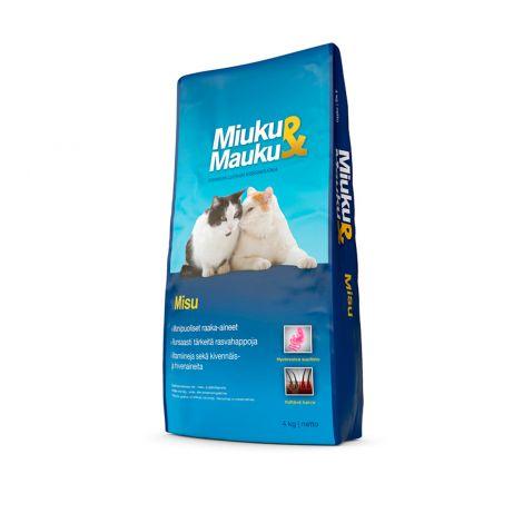 Miuku&Mauku Kissan täysravinto 4kg