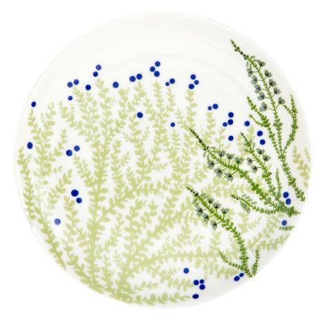 Vallila lautanen 20cm, Varvikko vihreä