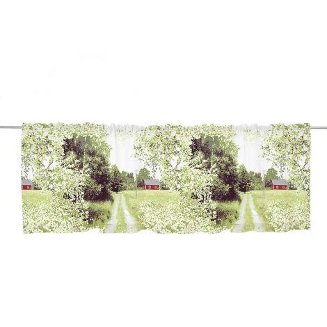 Vallila verhokappa Maalla 60x250cm vihreä