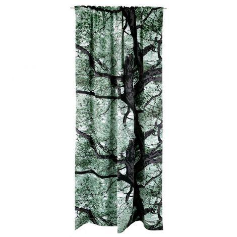 Vallila valmisverho Vaahtera Black Out 140x250cm metsä