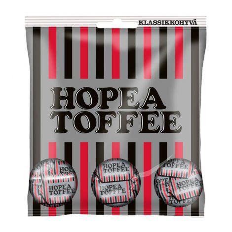 Hopeatoffee Lakritsitoffee pussi n. 169g