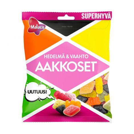 Aakkoset Hedelmä & Vaahto makeissekoitus 315g