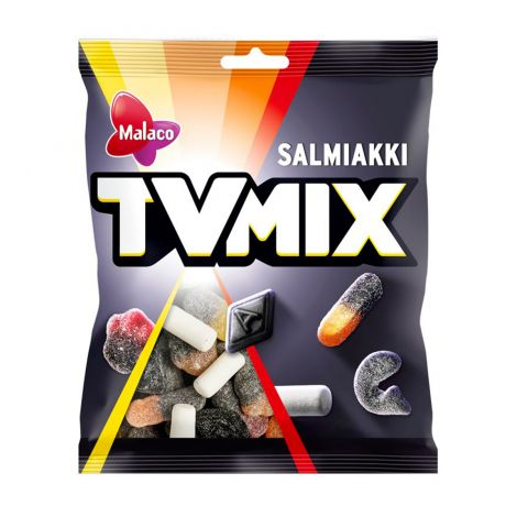 TV Mix Salmiakki makeispussi 280g