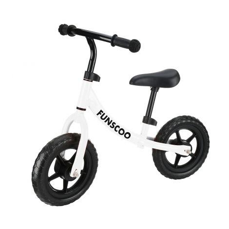 Funscoo potkupyörä valkoinen