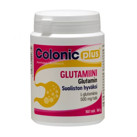 COLONIC PLUS GLUTAMIINI  160 KPL