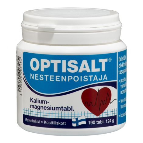 OPTISALT K+ MG  190 KPL