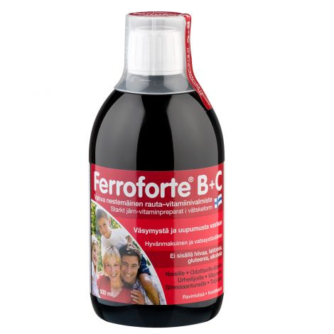 FERROFORTE B+C  500 ML