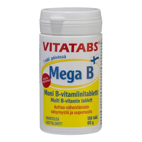 VITATABS MEGA B  150 KPL