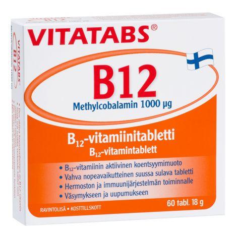 VITATABS B12 METHYLCOBALAMIN  60 KPL
