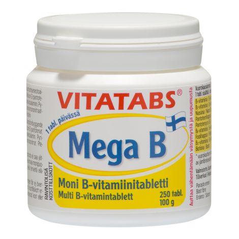 VITATABS MEGA B  250 KPL
