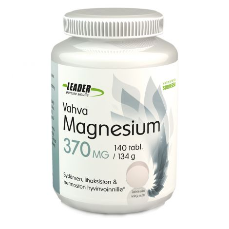 Vahva Magnesium 370mg  140 kpl