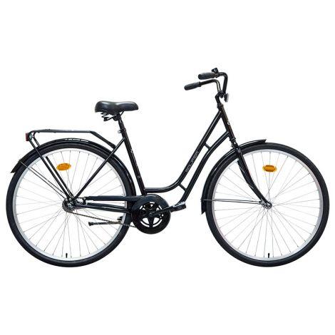 """Solifer Classic 28"""" naisten polkupyörä 1-V, musta"""