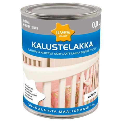 ILVES KALUSTELAKKA KIILTÄVÄ 0,9L 900 ML