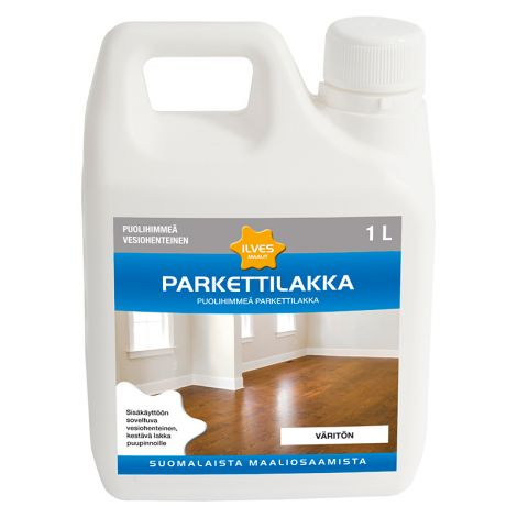 ILVES PARKETTILAKKA PUOLIHIMMEÄ 1L
