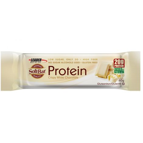 Leader Protein SoftBar Crispy White Chocolate 60 g