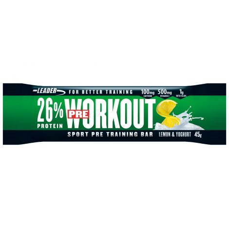 Leader Pre-Workout Bar Lemon-Yoghurt 45 g