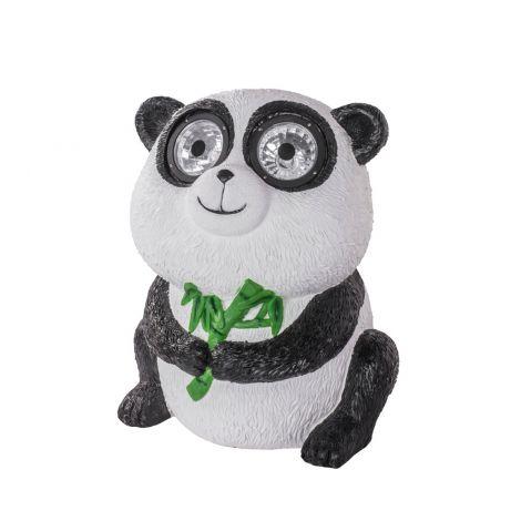 Airam Solar LED panda 35cm, led-valo silmissä