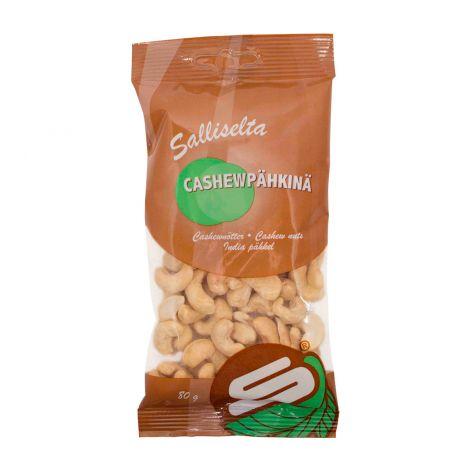 Sallinen cashewpähkinä 80g