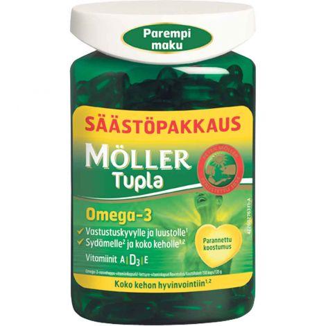 Möller Tupla Omega-3 säästöpakkaus 150kpl