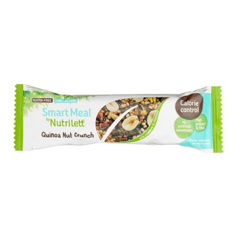 NUTRILETT QUINOA-NUT CRUNCH BAR GTON 56 G