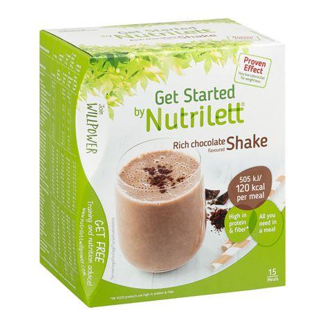 NUTRILETT SHAKE JUOMAJAUHE 33G 15KPL RICH CHOCOLATE 495 G