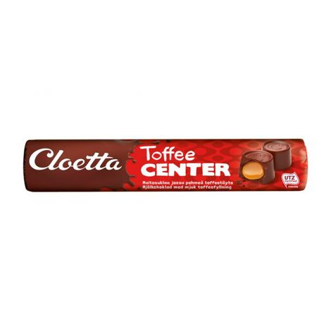 Cloetta Center toffeerulla 78g