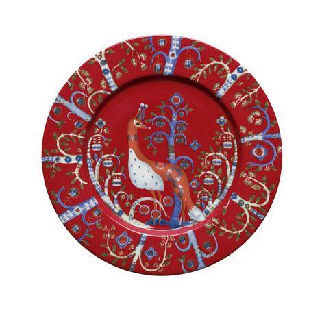 Iittala Taika lautanen 22cm, punainen