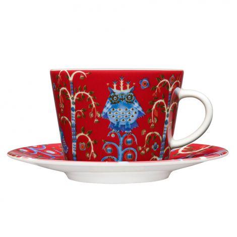 Iittala Taika kahvikuppi 0,2l, punainen