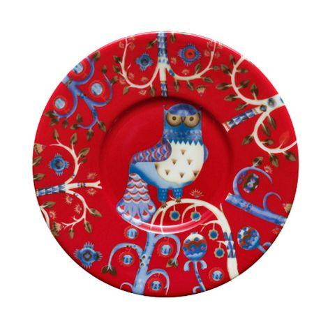 Iittala Taika lautanen 15cm, punainen