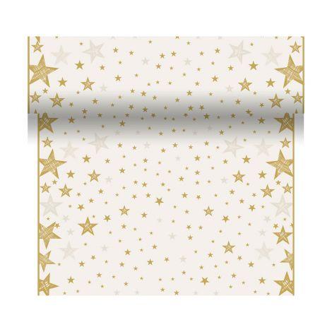 DUNI POIKKILIINA SHINING STAR VANILJA 0,4,X4,8M