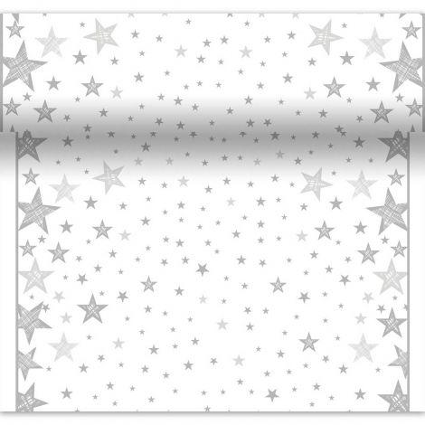 DUNI POIKKILIINA SHINING STAR VALKOINEN 0,4,X4,8M